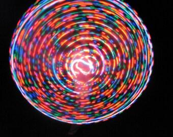 Born Cross-eyed LED Hoop