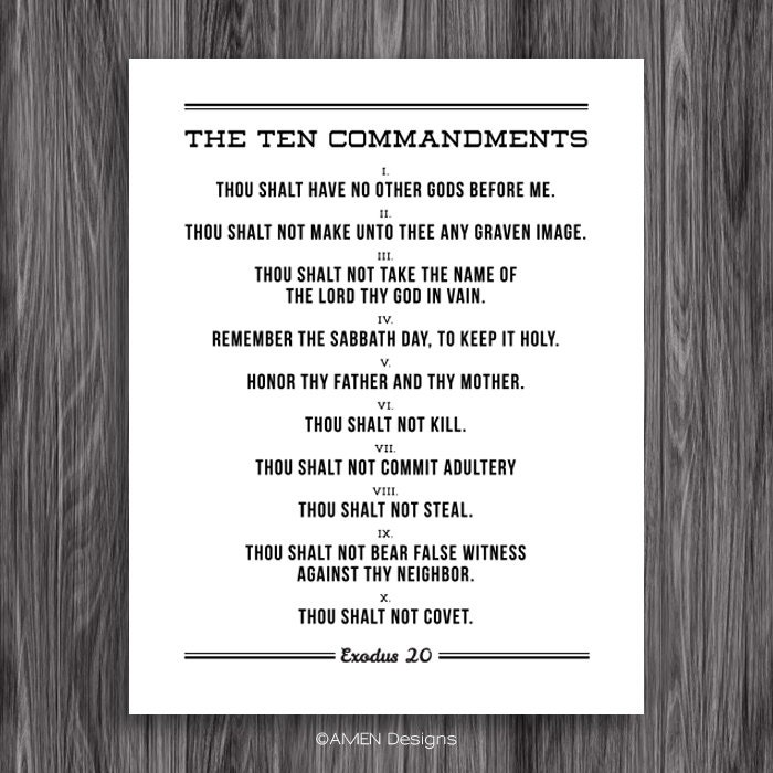 The Ten Commandments ( Full Download )