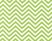 Lime Skinny Chevron From Robert Kaufman