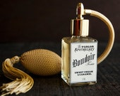 Boudoir Tonic - Sweet Cream Caramel Perfume - Vanilla Peach Sugar - Atomizer Bottle -1 oz