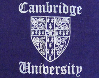 Vintage 80s Cambridge University T-Shirt