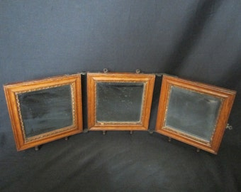 Antique Folding Mirrors Turn of the Century BEST OFFERS CONSIDERED