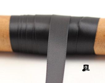 Black Satin Ribbon - 100 Yards - 5/8 inch - Invitation Making, Wedding, Shower