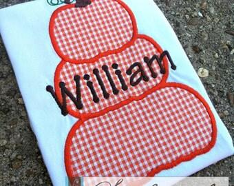 Pumpkin Trio Shirt - You Personalize