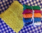 Crocheted Cloths - set of 3