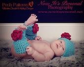 Crochet Pattern - Crochet Patterns for Babies - Leg warmers Pattern - Includes 4 Sizes Newborn to 4T - Photo Prop Pattern - PDF 167