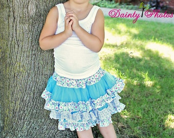 Coco's Fabric Pettiskirt  PDF Pattern size 6/12 months to size 8 girls