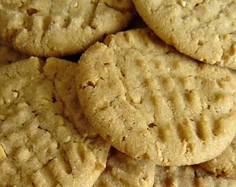 Peanut Butter Cookies (2 Dozen)