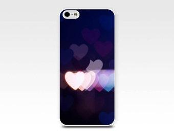 iphone 5s case hearts iphone case 6 iphone 4s case iphone 4 case abstract bokeh iphone case photography purple lights fine art iphone 5 case