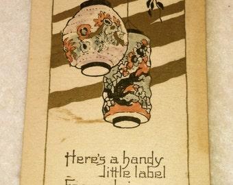 Vintage Label Booklet for Canning