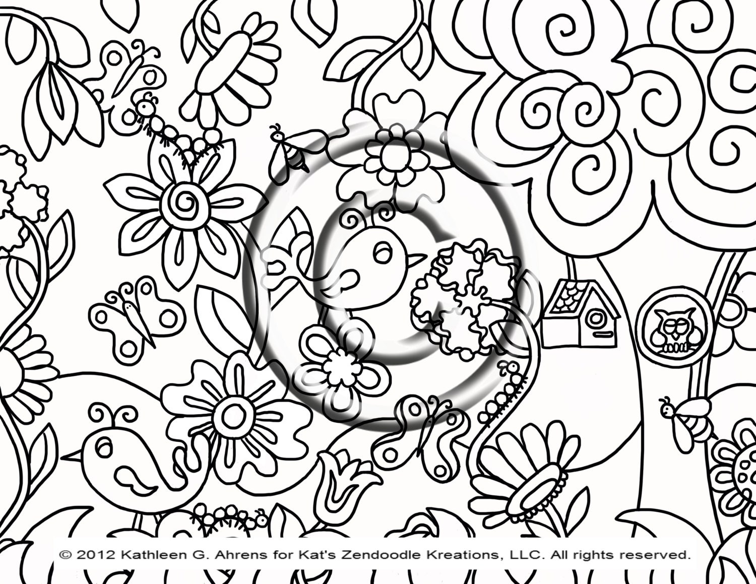 Hippie Coloring Pages Pdf : Alice in wonderland flower coloring pages hot girls