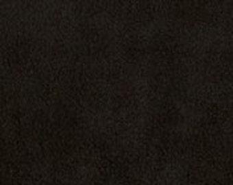 Anti Pill Solid Color Polar Fleece Fabric by the yard- Black