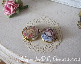 Ladies Compact for Dollhouse