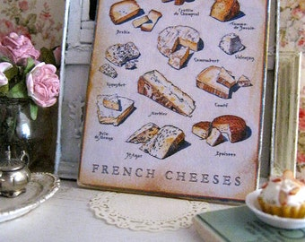 Fromage Print for Dollhouse