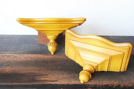 vintage maple wood wall shelves tell city furniture hard rock