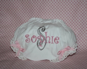 Adorable Personalized Baby Bloomers