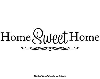 Vinyl Decal - Home sweet home