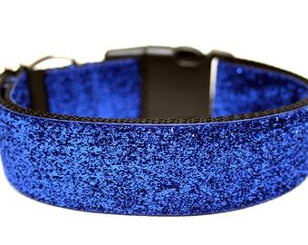 "Royal Blue Dog Collar 1.5"" Blue Dog Collar"