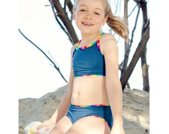 Swimsuit Pattern Swimwear Separates 1 bikini tankini swimsuit pdf sewing pattern