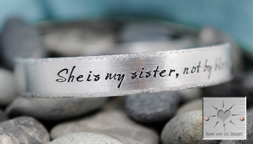 She Is My Sister Not By Blood But Rather By Love