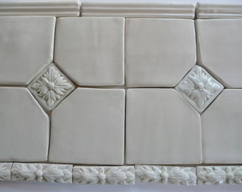 Handmade Relief Molded Tiles