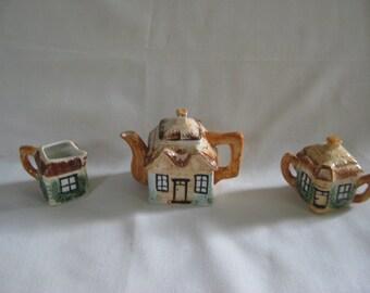 Vintage Cottage Ware Tea Set