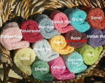 Set of Nine Cheesecloth Photography Props...Over 75 Colors...Newborn Props...Baby Girl Cheesecloth Wraps...Cheesecloth Wraps