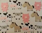 Farm/Barnyard animals die cuts