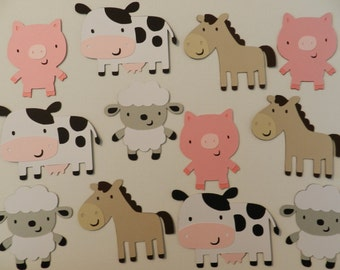 Farm/Barnyard animals die cuts
