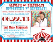... Carnival Birthday Party Circus Birthday Party Invitation Kids Invite