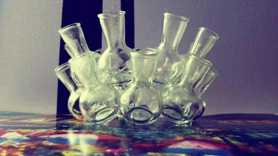 Multi-bulb flower vase