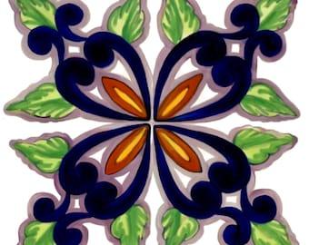 Pretty Point On White Custom Ceramic Tile Backsplash 6 Inch