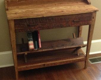 Barn Wood Entry or Sofa Table