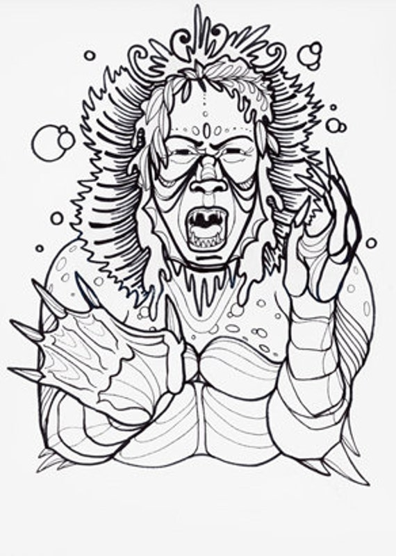 cryptid coloring pages - photo#33