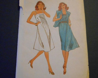 Butterick 3733, Misses Sundress, size 14