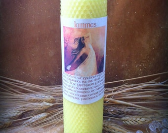 LAMMAS Ritual Candle for Lughnasadh and First Harvest