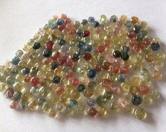 Umba Sapphire Beads Genuine Good Water Rare Umba Sapphire Beads GENUINE Size 7mm  15 inches strand