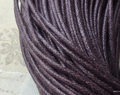 2 mm Dark Brown Color Cotton Cords (.sah)