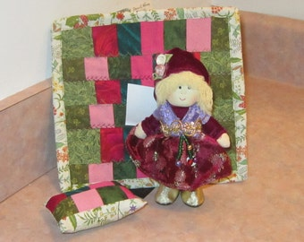 Doll and Bargello Quilt
