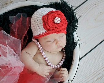 Baby Girl Hat - Baby Baseball Hat - Baby Hat - Baby Girl Clothes - Newborn Girl Hat - Baby Girl Beanie - Infant Hat - Infant Girl Hat
