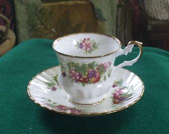 Queens Tea Cup and Saucer