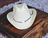 Newborn BABY Prop Cowboy Hat   Ready to Ship  Limited Quantity