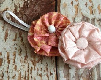 Newborn Flower Headband - Infant Headband - Newborn Headband - Photo Prop - READY TO SHIP