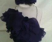 Asymmetrical Bib Necklace Set