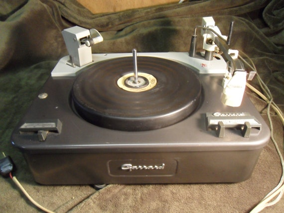 1960s Garrard Type A Turntable With New By Nashvillepicker
