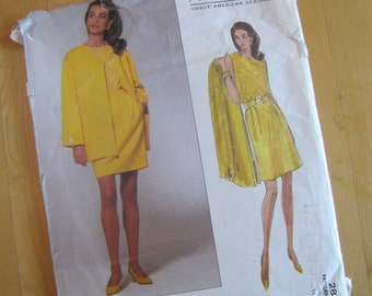 Vogue Sewing Pattern 2872 - Perry Ellis  - Misses Petite Jacket, Skirt and Top  -  Size 14-18
