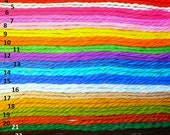 SPECIAL ORDER 70s Yarn Hair Ribbons Vintage Girls Ties Pigtail Bows Brady Bunch Costume
