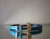 80s Liz Claiborne Snake Skin Belt