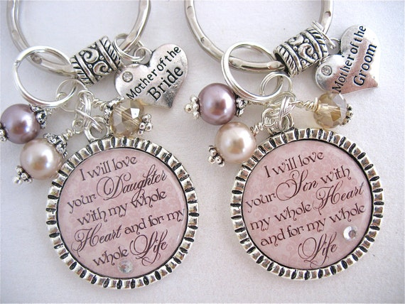 Gifts On Wedding Day For Bride: Personalized Wedding Jewelry For MOTHER Of The BRIDE Mother