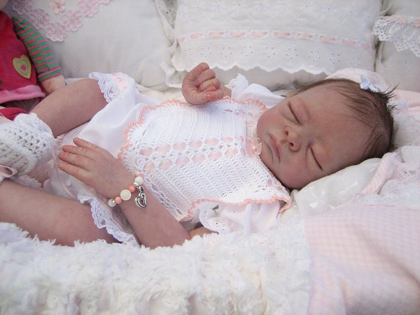Pre Painted Reborn Baby Molly 19 Inch Kit Reborn Reborn Your